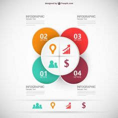 Infographic business template vector illustration Free Vector