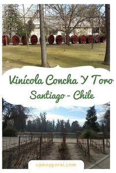 Visitamos a Vinícola Concha y Toro por conta própria. Saiba como fazer uma reserva, quanto custou e como chegar.