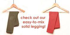 New! Solid leggings- lötiekids