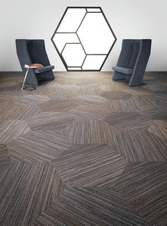 Conference Room Flooring | linear shift hexagon | 5T056 | Shaw Contract Group Commercial Carpet and Flooring