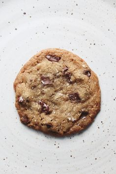 Cookies always hit the spot, but you don't have to bake an entire batch to get your sweet fix. Just make this single chewy-crisp one from F