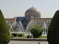 Sheikh lotfolah mosque Isfahan Iran