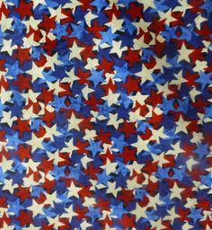 Cotton Fabric, Quilt, Home Decor, Northcott Stonehenge Celebration Stars, Fast Shipping,N151