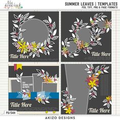 Summer Leaves | Templates