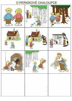 Preschool Literacy, Preschool Themes, Kindergarten, Sequencing Pictures, Story Sequencing, Fun Crafts For Kids, Projects For Kids, Hansel Y Gretel, Gross Motor Activities