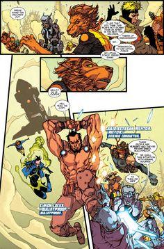 Comic Book Artists, Comic Books Art, Mike Deodato Jr, Wolfsbane, Nerd, David, Marvel, Cover, Games