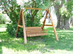 Amish Crafted Cedar Swing And A-frame Combo