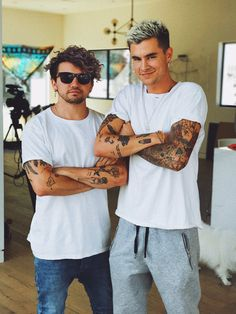 Kian and jc Pinterest - stylishbrunette