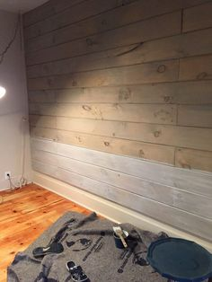 White Washing over stain Front Porch Mercantile Wood Plank Walls, Pine Walls, Wood Planks, Stained Shiplap, Faux Shiplap, Shiplack Walls, Tounge And Groove, White Wash Walls, Painting Shiplap