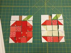 Catching up. – Knit Make 2 Quilt Square Patterns, Barn Quilt Patterns, Square Quilt, Quilting Tutorials, Quilting Designs, Applique Stitches, Apple Decorations, Fall Quilts, Cat Quilt