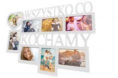 Ramka multirama na zdjęcia Nasze Całe Życie 8 zdjęć
