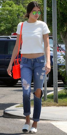 How to Chic: We love Kendall Jenner's street style