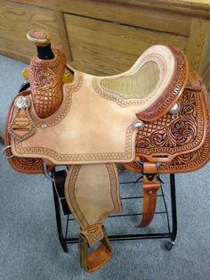 If this saddle is currently out of stock, please allow 8-12 weeks for your New Custom Saddle to arrive. Constructed for a man, woman or teen that needs the comfort and durability of a true using saddl