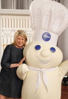 Martha Stewart at the Pillsbury Bake-Off in Orlando.