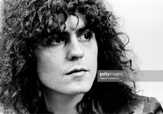 News Photo : Marc Bolan from T-Rex posed in London in 1972