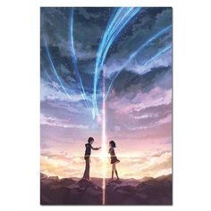 Your Name Taki and Mitsuha Canvas Poster - 70X100cm Unframed