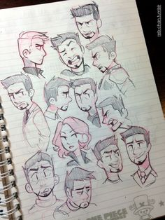 Sketch Dump—Nov. 14 :) I usually get really sidetracked while taking notes at school soooo here's a buncha random things from my notebook and some doodles from today. Mostly more BH6 cuteness, a healthy dose of Tony Stark, and some fabulous Fantastic Four. Plus there's a Nat and Steve amid the plethora of Tonys somewhere~ Gotta say, I think Johnny Storm is the