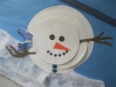 snowman art & preschool ideas