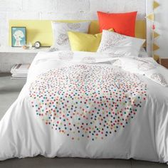 Project bedroom on pinterest ikea polka dot bedding and for Housse couette 3 suisses