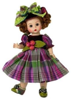 Madame Alexander 8 Inch Americana Collection Doll – Garden Party Charm