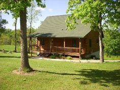 Pet+Friendly+Wisconsin+Log+Cabin+for+RentVacation Rental in DeSoto from @HomeAway! #vacation #rental #travel #homeaway