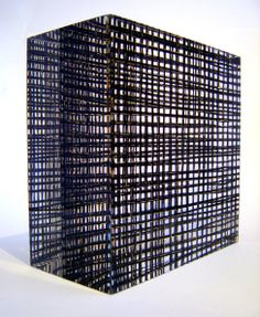 Laura Thomas- 'Grid weave'. Winner of the Textiles Category- Wesley-Barrell Craft Awards 2008. http://www.laurathomas.co.uk