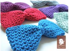 Great Father's Day Gift! Crochet Bowtie - Crochet Bow Tie - BOYFRIEND Bow Tie by DopeCrochet. www.dopecrochet.com