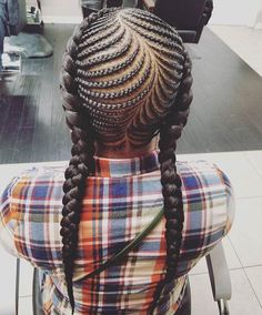 Flawless braids by @kiakhameleon - https://blackhairinformation.com/hairstyle-gallery/flawless-braids-kiakhameleon/