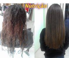 Antes e Depois de Tratamento de nutrição