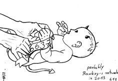 'Probably Banksy's artwork in 2013′, Mariusz Tarkawian (2012)