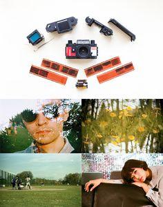 Konstrukt a Konstruktor: A DIY Camera! It's a 35mm film camera that's easy and fun to assemble.