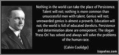 talento y perseveran