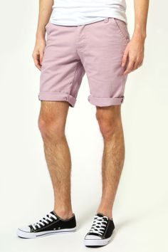 Coordinating outfits - colored shorts - match this color with other family member's shirts or patterned outfits for a rounded family look.