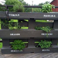 7 sköna utemöbler! Bygg med lastpallar | Land Garden Inspiration, Garden Ideas, Kraut, Gardening Tips, Exotic, Sweet Home, New Homes, Outdoor Decor, Diy