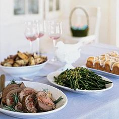 This festive meal is a pleasure to host because you do most of the preparation in advance.