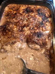 Baked Steak Recipes, Oven Baked Steak, Steak In Oven, Oven Recipes, Cooking Recipes, Cooking Ideas, Yummy Recipes, Healthy Recipes, Round Steak Recipe Oven