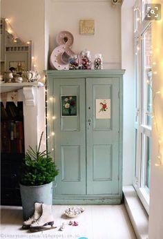 42 Ideas For Bedroom Vintage Pastel Mint Green My New Room, My Room, Vintage Furniture, Painted Furniture, Painted Armoire, Country Furniture, Furniture Decor, Bedroom Furniture, Room Inspiration