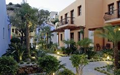 Iapetos Village, Symi, Greece