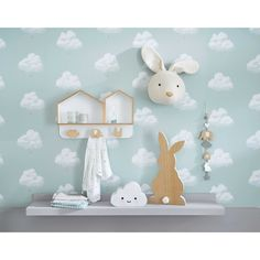White Rabbit Trophy Wall Art | Maisons du Monde