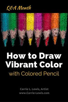 Color Pencil Drawing Tutorial How to Draw Vibrant Color with Colored Pencil - Learning how to draw vibrant color with colored pencil be a challenge. Equine artist Carrie Lewis shares a few tips to help you draw better color. Easy Drawing Tutorial, Pencil Drawing Tutorials, Drawing Tips, Pencil Drawings, Drawing Techniques, Sketching Tips, Drawing Ideas, Watercolor Pencils Techniques, Rose Drawings