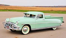 1952 Hudson Hornet Pickup Maintenance/restoration of old/vintage vehicles: the… Old Pickup Trucks, New Trucks, Cool Trucks, Cool Cars, Fiat 500, Station Wagon, Hudson Car, Detroit, Michigan
