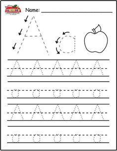 Not only letter tracing! This site has lists of all sorts for each letter :)