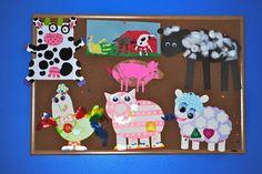 Adorable farm animal crafts!!! =)