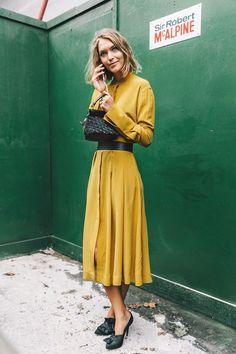 Cómo combinar el amarillo: primavera-verano 2017
