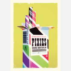 Pixies Sticks Print now featured on Fab.
