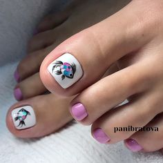 Pedicure Nail Art Design, If you've got hassle decisive that color can best suit your nails, commit to mirror this season or your mood! Animal Nail Designs, Toenail Art Designs, Pedicure Designs, Pedicure Ideas, Pretty Toe Nails, Cute Toe Nails, Toe Nail Art, Pretty Toes, Beach Toe Nails