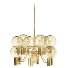 Chandelier by Hans-Agne Jakobsson Cool Chandeliers, Chandelier Ceiling Lights, Chandelier Pendant Lights, Ceiling Pendant, Vintage Chandelier, Modern Chandelier, Creative Lamps, Contemporary Lamps, Retro Furniture