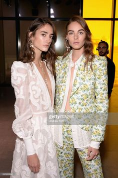 Models pose backstage for Zimmermann fashion show during New York Fashion Week: The Shows at Spring Studios on September 11, 2017 in New York City.