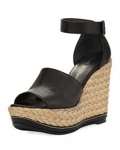3f273ebca42 STUART WEITZMAN SOHOJUTE PLATFORM WEDGE SANDAL.  stuartweitzman  shoes