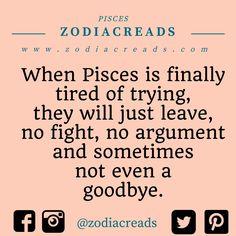 Pisces Traits, Pisces And Aquarius, Pisces Love, Astrology Pisces, Zodiac Signs Pisces, Pisces Quotes, Pisces Woman, Horoscope, Doesnt Care Quotes